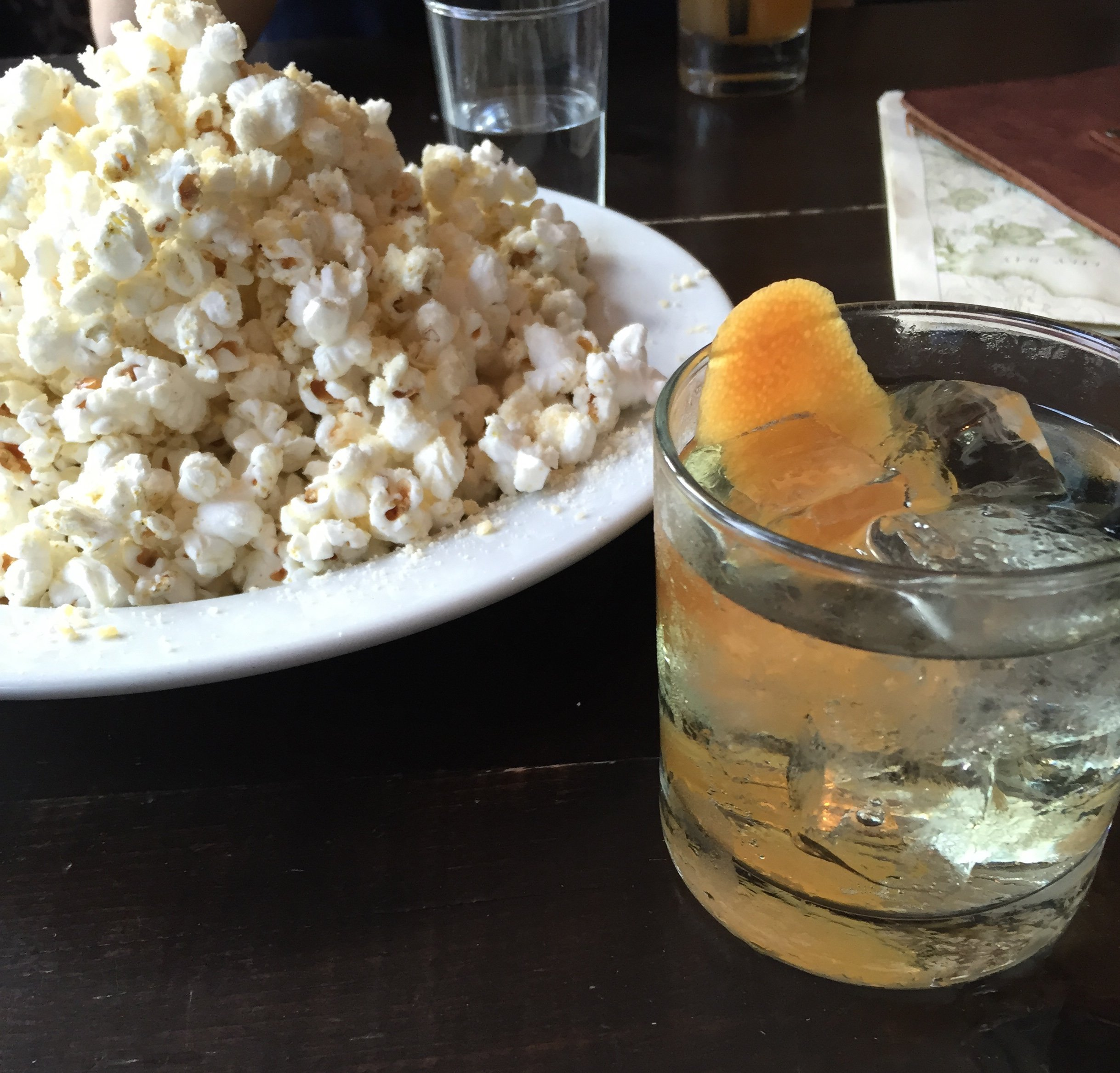 Cocktails and Popcorn at the Portland Hunt & Alpine Club