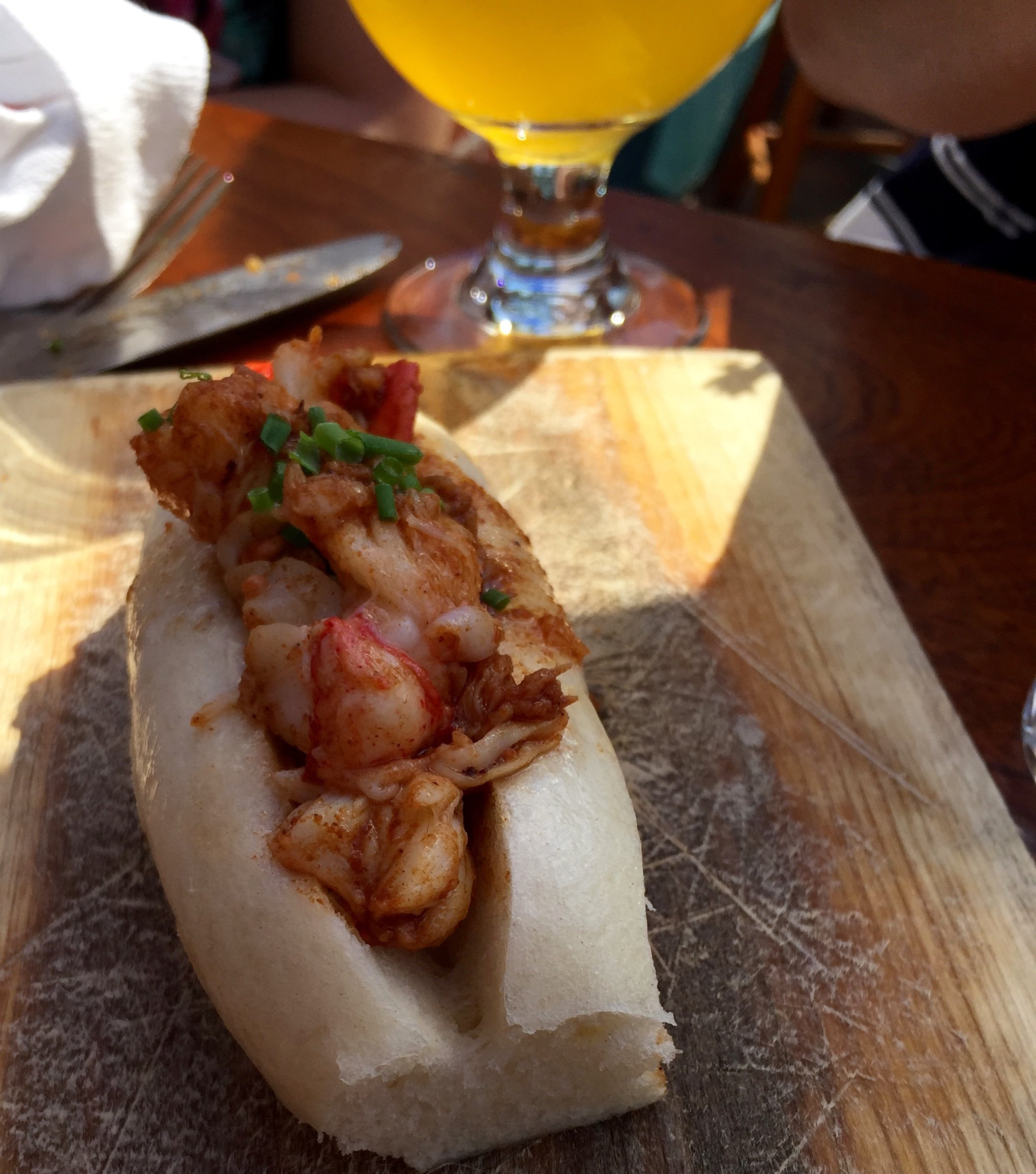 Lobster roll at Eventide Oyster Co.